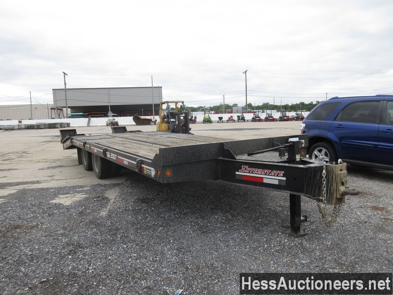 USED 2017 INTERSTATE 20DT TAG TRAILER #39016-2
