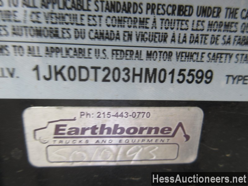 USED 2017 INTERSTATE 20DT TAG TRAILER #39016-5
