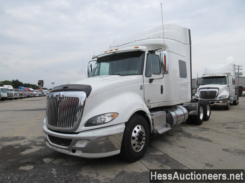 USED 2015 INTERNATIONAL PROSTAR + TANDEM AXLE SLEEPER TRAILER #39169