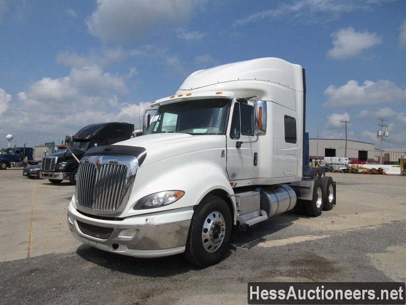 USED 2015 INTERNATIONAL PROSTAR + TANDEM AXLE SLEEPER TRAILER #39170