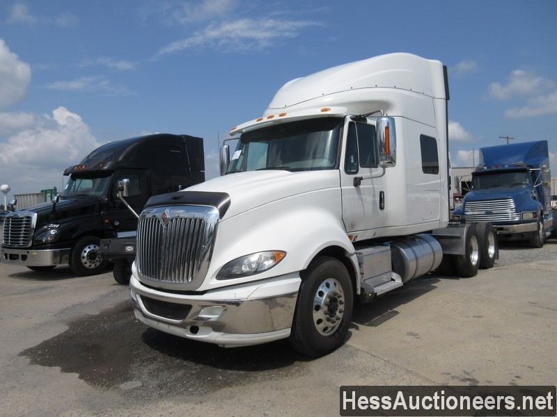 USED 2015 INTERNATIONAL PROSTAR + TANDEM AXLE SLEEPER TRAILER #39171
