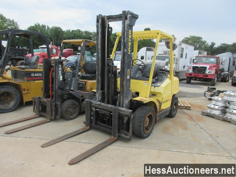 USED HYSTER H80XM MAST FORKLIFT EQUIPMENT #39222
