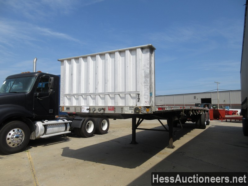 USED 2006 FONTAINE 48' FLATBED TRAILER #645815