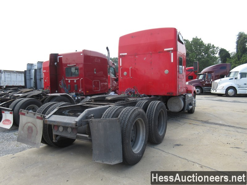 USED 2007 KENWORTH T600 TANDEM AXLE SLEEPER TRAILER #39317-3