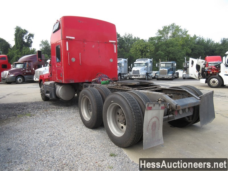 USED 2007 KENWORTH T600 TANDEM AXLE SLEEPER TRAILER #39317-4