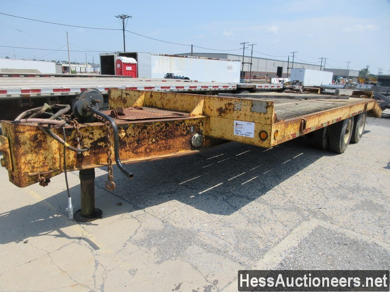 USED 1986 EAGER BEAVER 20 HA TAG TRAILER #39353