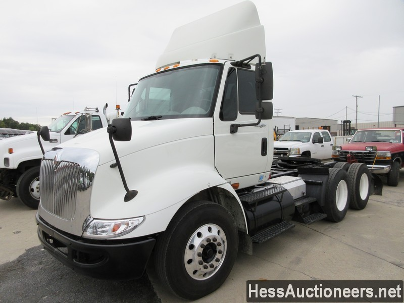 USED 2009 INTERNATIONAL 8600 TANDEM AXLE DAYCAB TRAILER #41493-1
