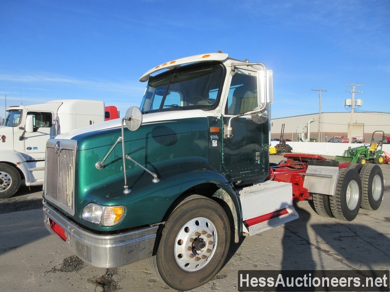 USED 2005 INTERNATIONAL 9200I TANDEM AXLE DAYCAB TRAILER #41952