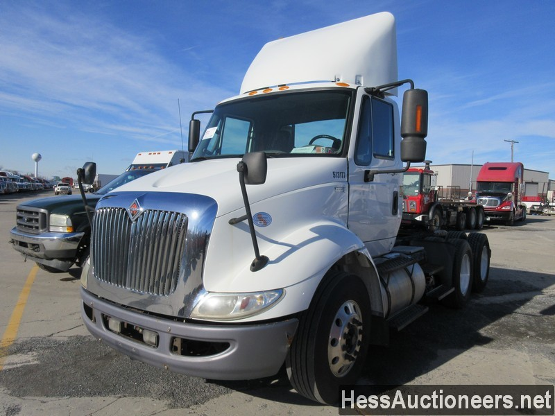 USED 2013 INTERNATIONAL 8600 TANDEM AXLE DAYCAB TRAILER #42024