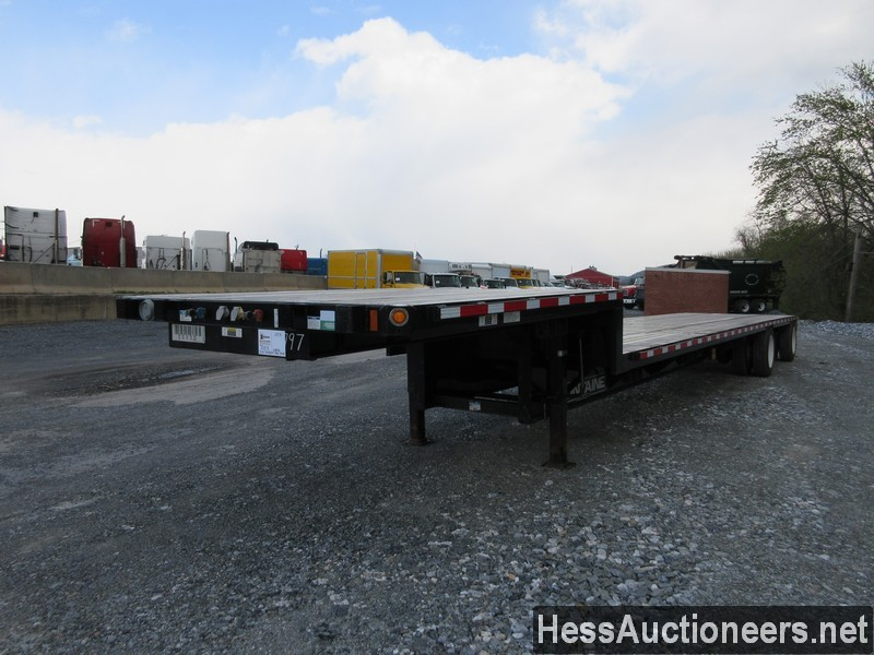 USED 2019 FONTAINE VELOCITY DROP DECK TRAILER #44142-1