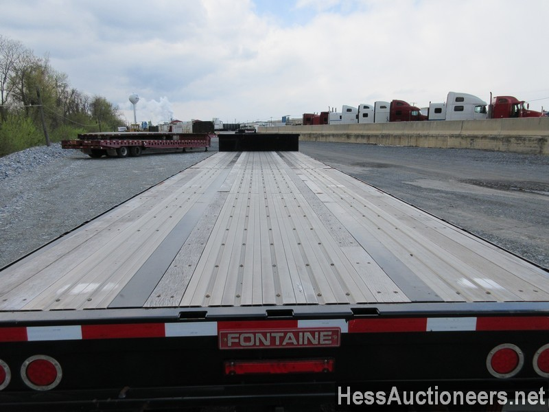 USED 2019 FONTAINE VELOCITY DROP DECK TRAILER #44142-12