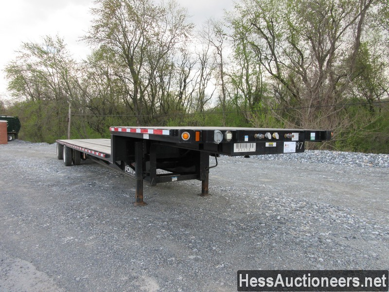 USED 2019 FONTAINE VELOCITY DROP DECK TRAILER #44142-2