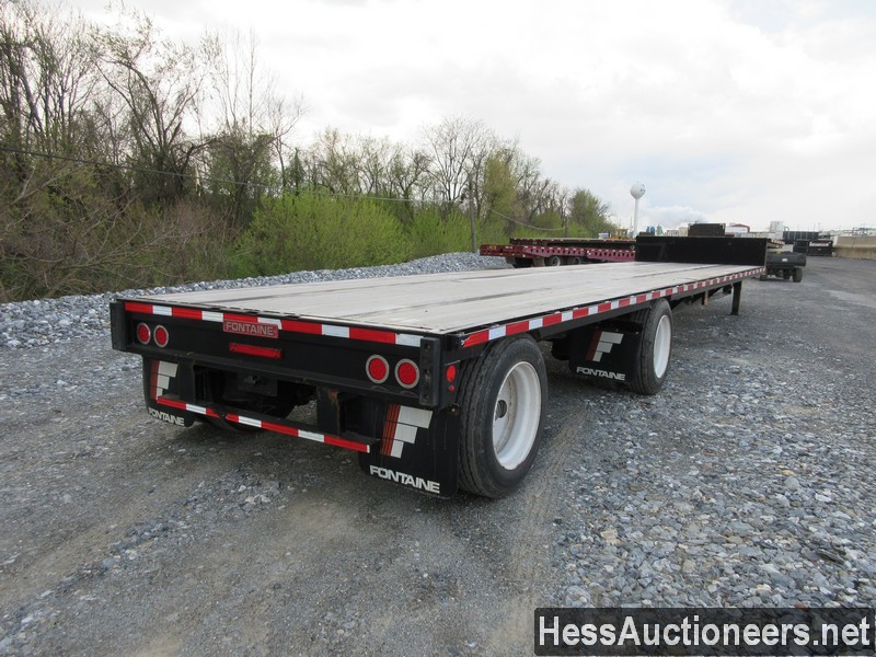 USED 2019 FONTAINE VELOCITY DROP DECK TRAILER #44142-3