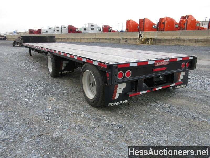 USED 2019 FONTAINE VELOCITY DROP DECK TRAILER #44142-4