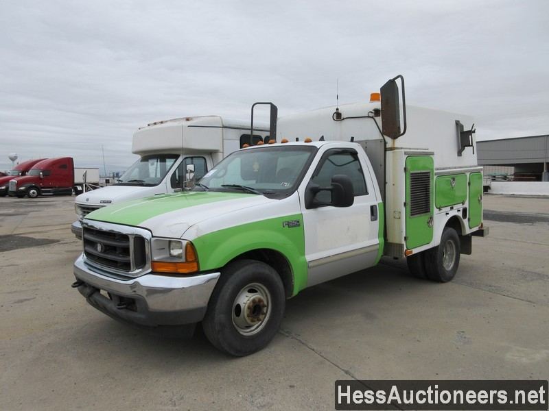 USED 1999 FORD F350 SERVICE - UTILITY TRUCK TRAILER #44431