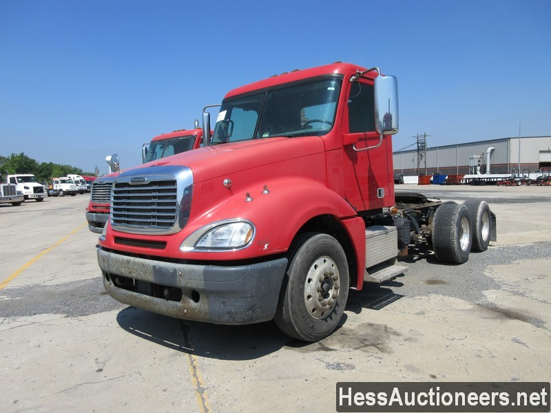 USED 2013 FREIGHTLINER COLUMBIA TANDEM AXLE DAYCAB TRAILER #44487