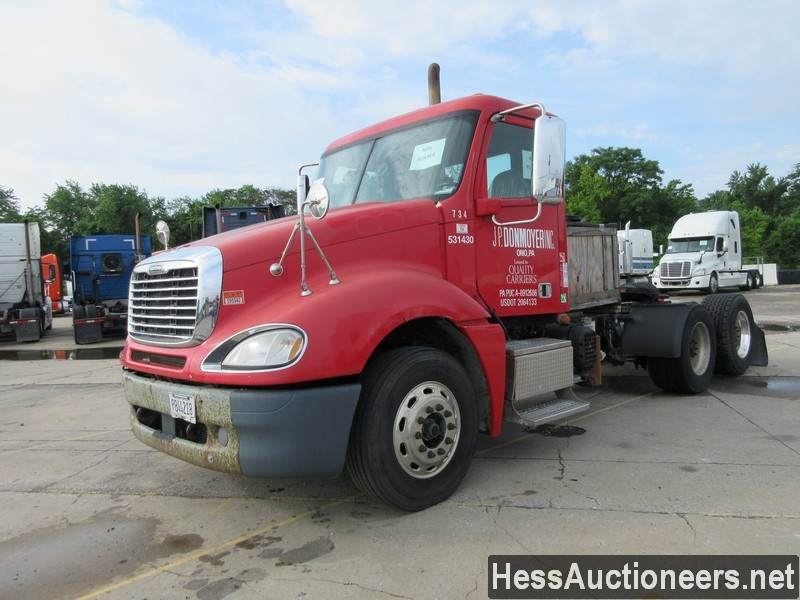 USED 2013 FREIGHTLINER COLUMBIA TANDEM AXLE DAYCAB TRAILER #44489