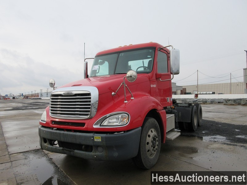 USED 2013 FREIGHTLINER COLUMBIA TANDEM AXLE DAYCAB TRAILER #44493