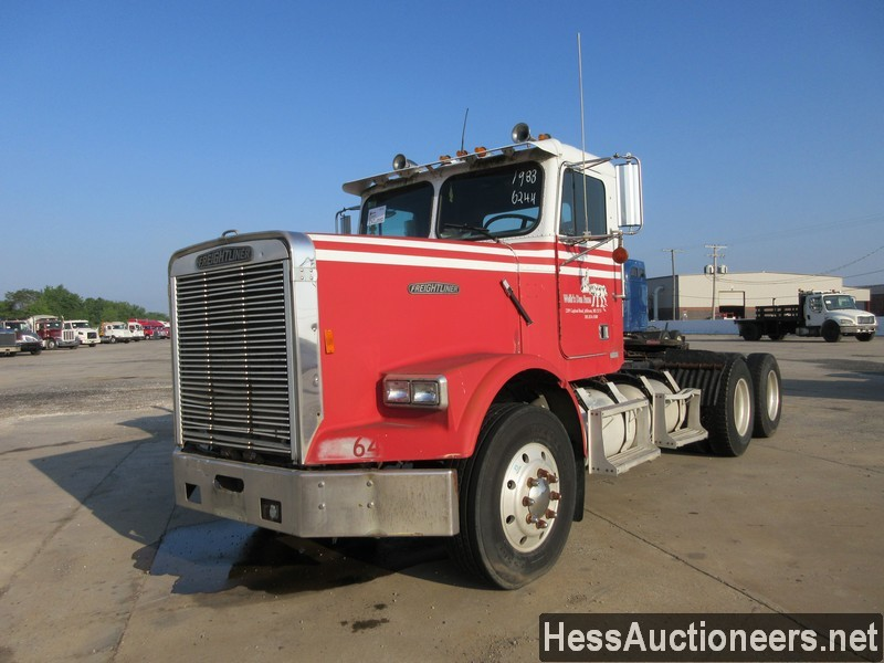 USED 1988 FREIGHTLINER T/A TANDEM AXLE DAYCAB TRAILER #44679