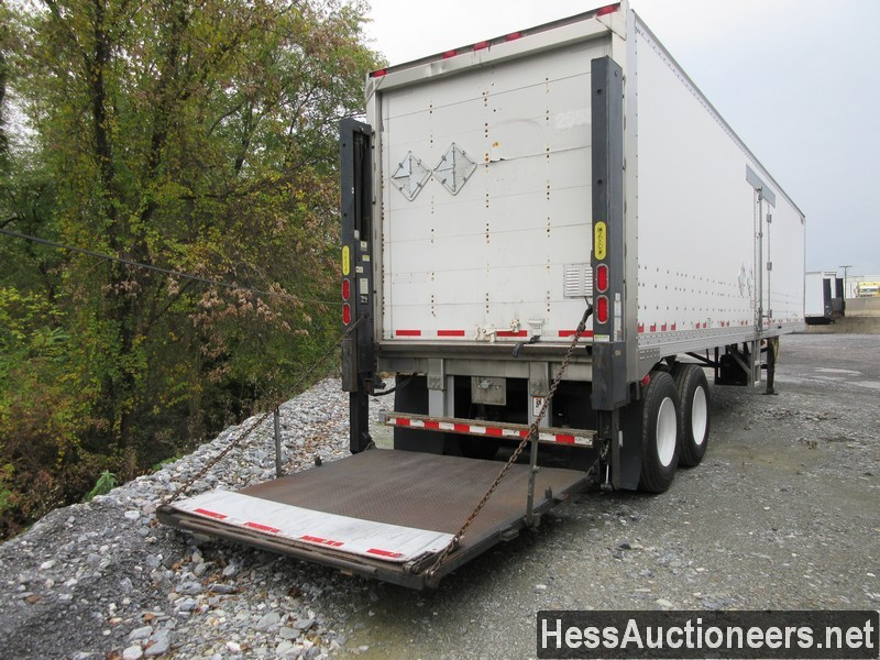 USED 2010 GREAT DANE 42' WITH LIFTGATE VAN TRAILER #47419-14