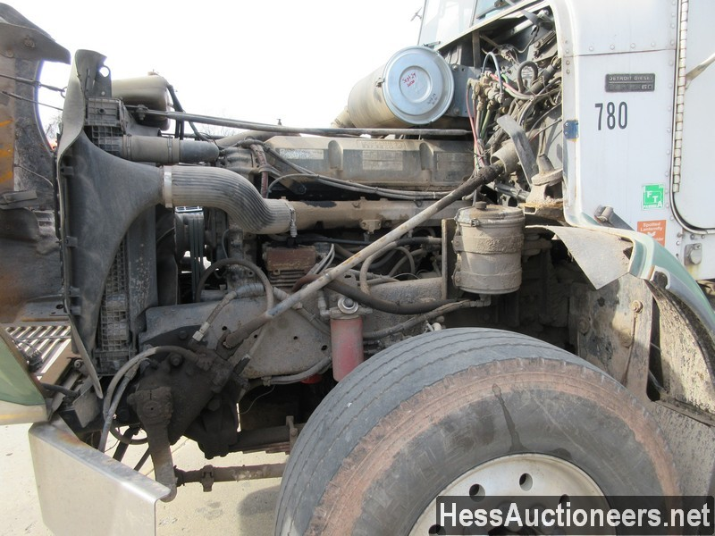 USED 2002 FREIGHTLINER FLD120 GRAIN - SILAGE TRUCK TRAILER #48041-7