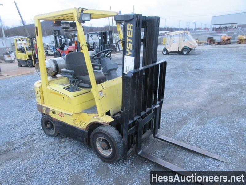 USED 1995 HYSTER H40XMS MAST FORKLIFT EQUIPMENT #48426