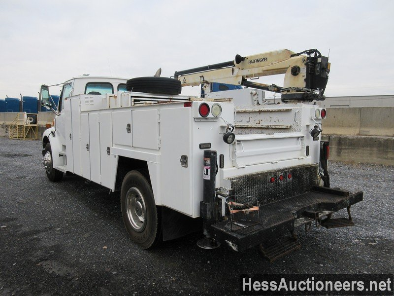 USED 2005 STERLING ACTERRA SERVICE - UTILITY TRUCK TRAILER #48481-4