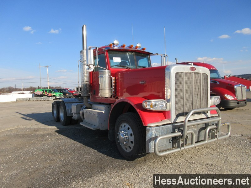 USED 2012 PETERBILT 389 L TANDEM AXLE DAYCAB TRAILER #48727-2