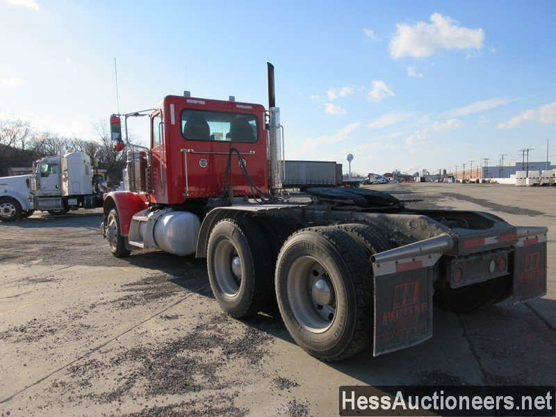 USED 2012 PETERBILT 389 L TANDEM AXLE DAYCAB TRAILER #48727-4