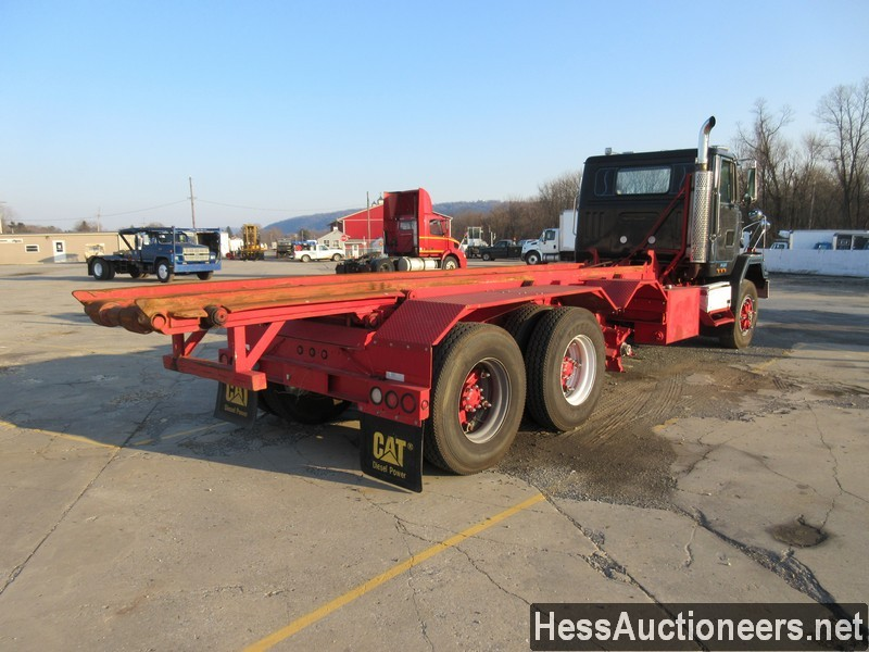 USED 1997 VOLVO . ROLL-OFF TRUCK TRAILER #48798-3