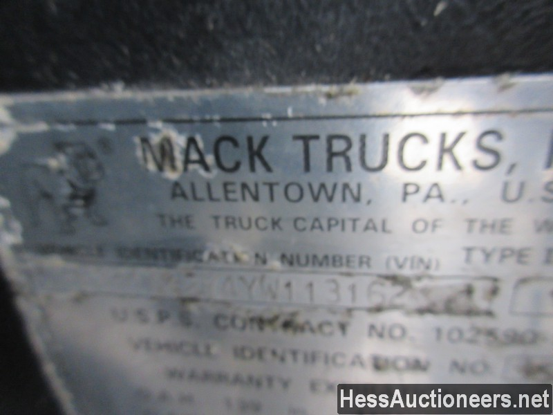 USED 2000 MACK CH613 TANDEM AXLE DAYCAB TRAILER #49441-5