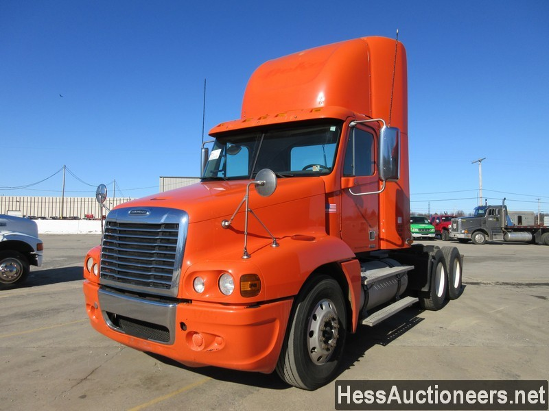 USED 2009 FREIGHTLINER C 120 TANDEM AXLE DAYCAB TRAILER #49603