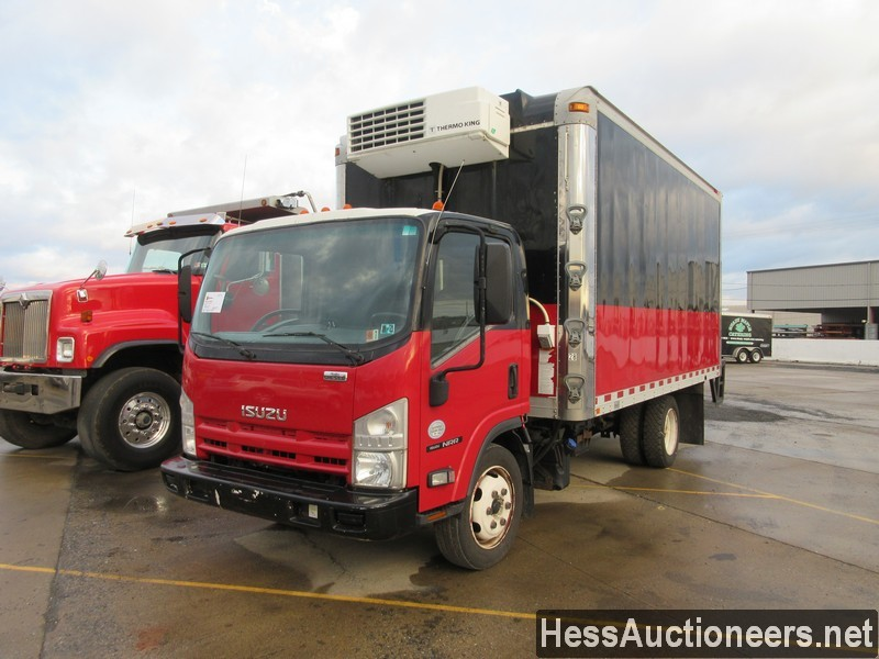 USED 2011 ISUZU NPR REEFER TRUCK TRAILER #49605-1