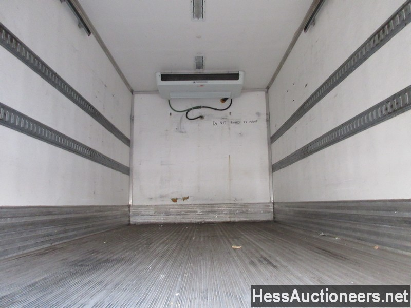 USED 2011 ISUZU NPR REEFER TRUCK TRAILER #49605-19