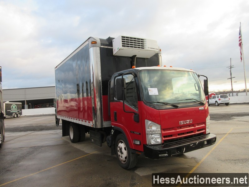 USED 2011 ISUZU NPR REEFER TRUCK TRAILER #49605-2