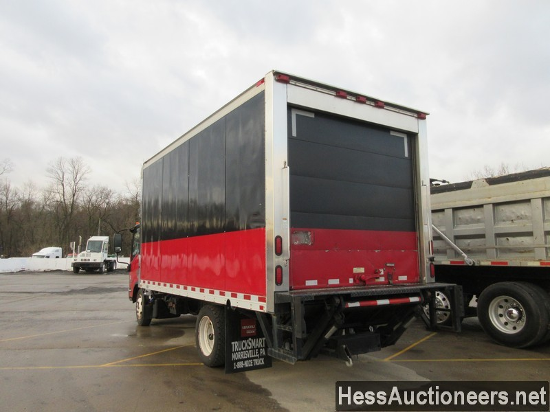 USED 2011 ISUZU NPR REEFER TRUCK TRAILER #49605-4
