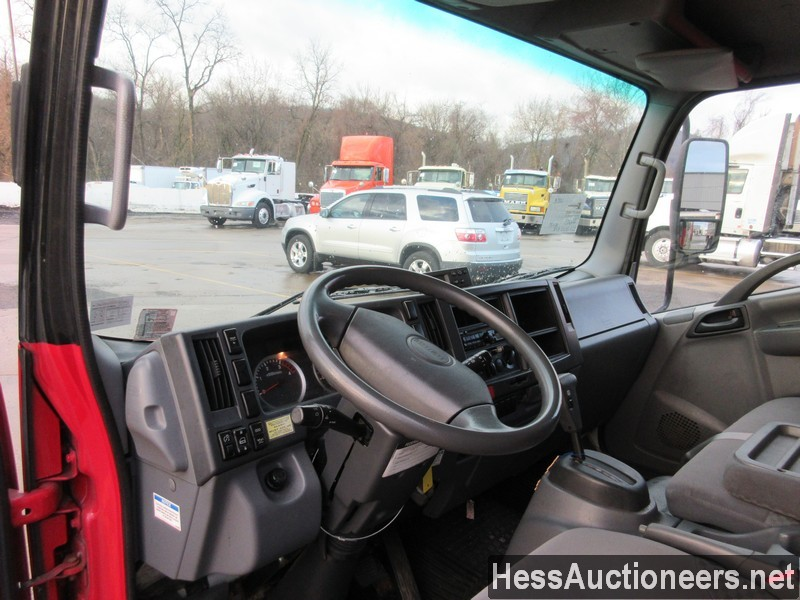 USED 2011 ISUZU NPR REEFER TRUCK TRAILER #49605-6