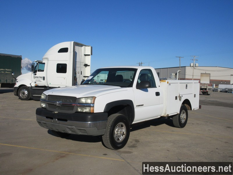 USED 2003 CHEVROLET 2500 SERVICE - UTILITY TRUCK TRAILER #49688