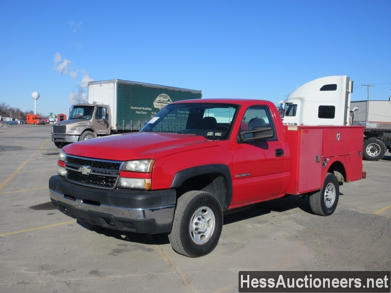 USED 2007 CHEVROLET 2500 SERVICE - UTILITY TRUCK TRAILER #49689