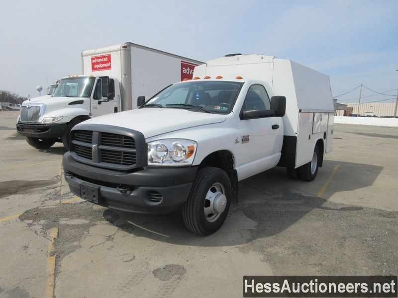 USED 2007 DODGE 3500 SERVICE - UTILITY TRUCK TRAILER #49831-1