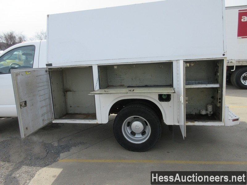 USED 2007 DODGE 3500 SERVICE - UTILITY TRUCK TRAILER #49831-19