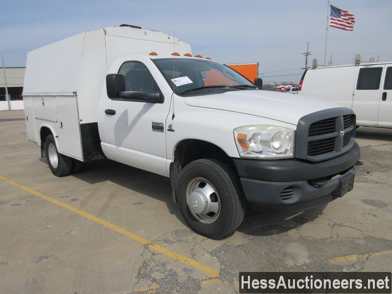 USED 2007 DODGE 3500 SERVICE - UTILITY TRUCK TRAILER #49831-2