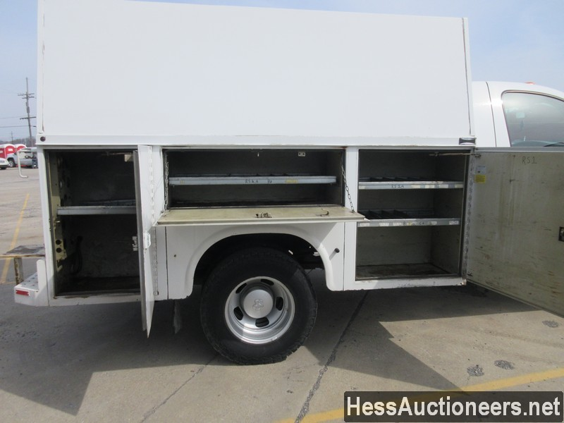 USED 2007 DODGE 3500 SERVICE - UTILITY TRUCK TRAILER #49831-21