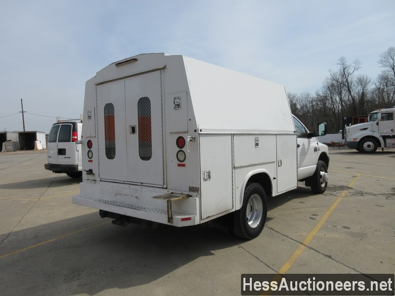 USED 2007 DODGE 3500 SERVICE - UTILITY TRUCK TRAILER #49831-3