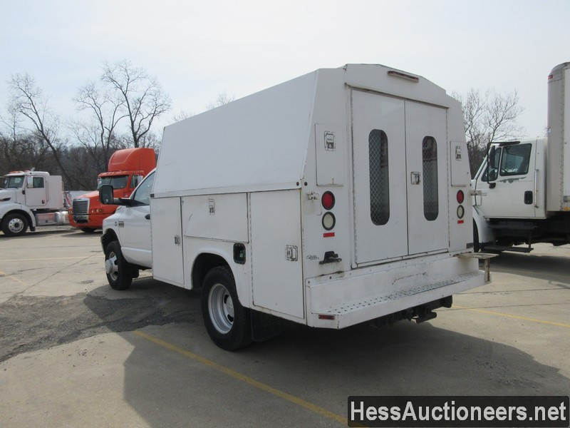 USED 2007 DODGE 3500 SERVICE - UTILITY TRUCK TRAILER #49831-4