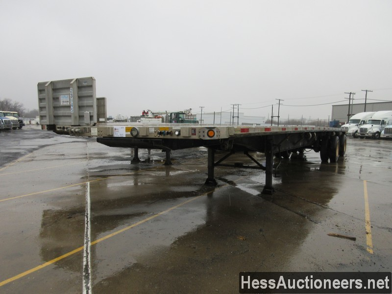 USED 2006 UTILITY 48' COMBO FLATBED TRAILER #49955-1