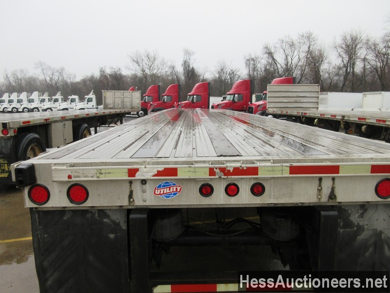 USED 2006 UTILITY 48' COMBO FLATBED TRAILER #49955-12