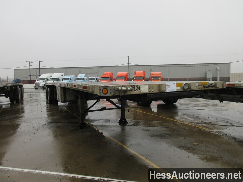 USED 2006 UTILITY 48' COMBO FLATBED TRAILER #49955-2