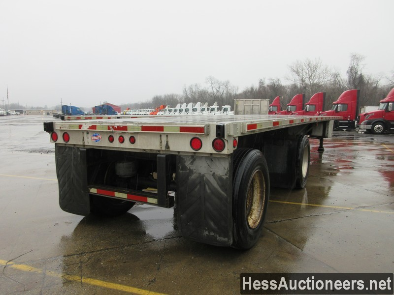 USED 2006 UTILITY 48' COMBO FLATBED TRAILER #49955-3