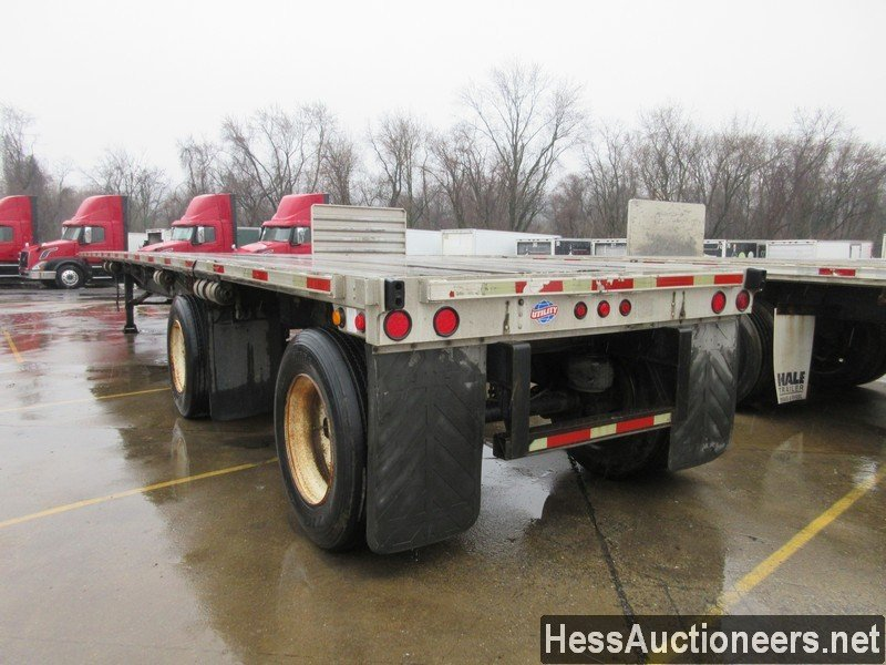 USED 2006 UTILITY 48' COMBO FLATBED TRAILER #49955-4